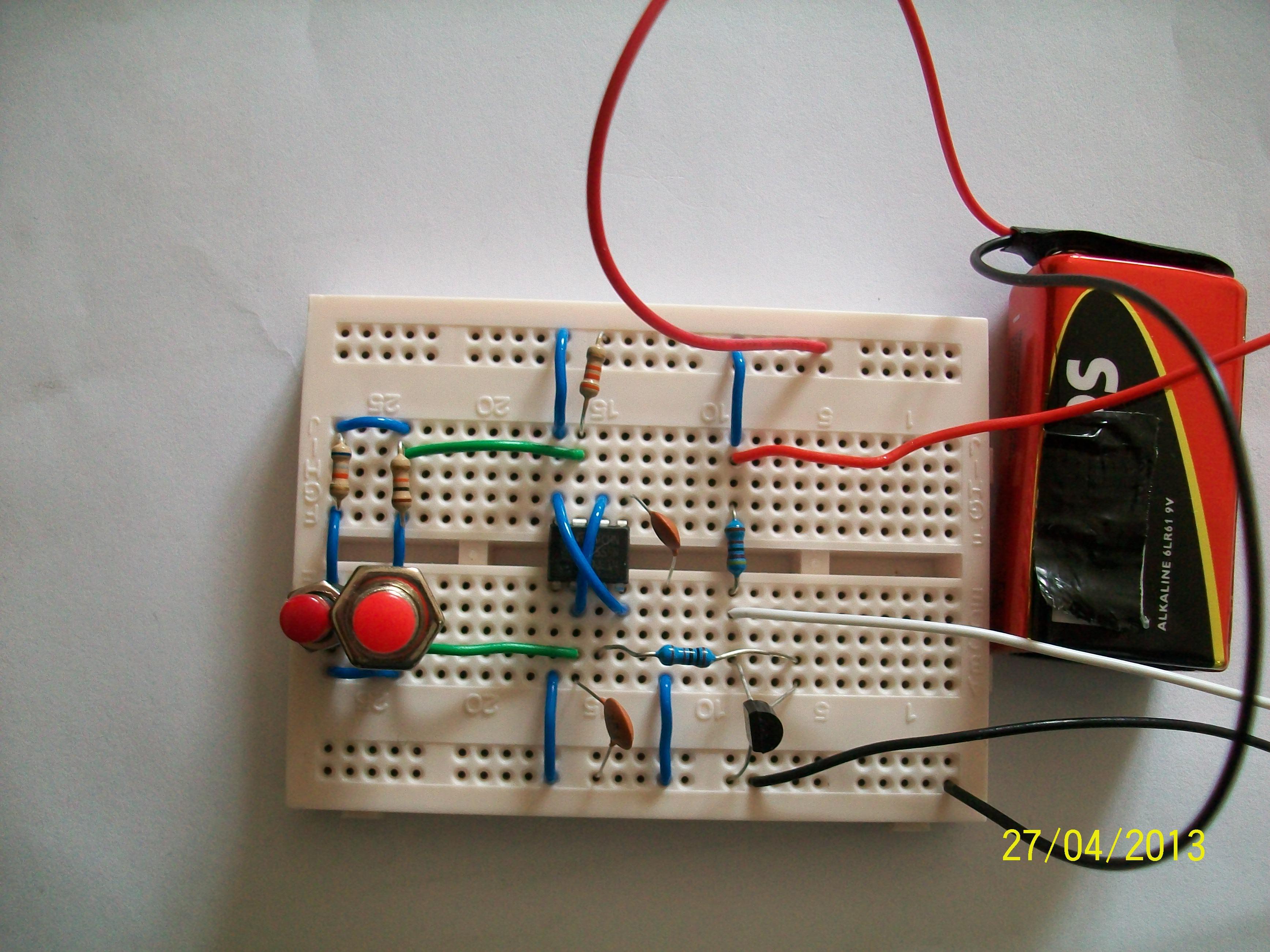 Servo Motor Tester Circuit Diagram Using Ic 555