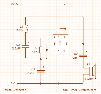 Swell Metal Detector Circuit Wiring Cloud Hisonuggs Outletorg